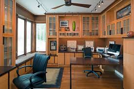 office by design. Craftsman Home Office By HBF Plus Design