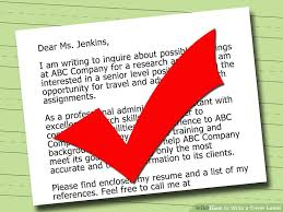 4 ways to write a cover letter with free sample letters steps on how to write a cover letter