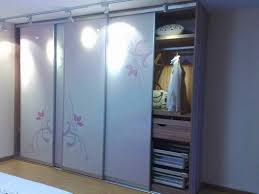 sliding cabinet doors. Exotic Pink Wardrobe Sliding Door Design Cabinet Doors A