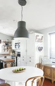 ikea hektar lighting in eat in kitchen