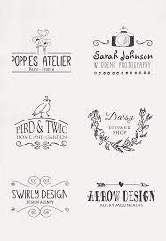 ナチュラルテイストかわいいロゴデザイン多数ありますデザインの参考