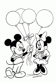 Beautiful Minnie Mouse Coloring Pages Minnie Mouse Coloring Pages ...