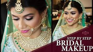 amazing beautiful bridal makeup tutorial 2018 step by step new easy makeup videos chandni singh