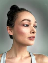 this look is about enhancing your skin to look fresh people think this is easy to achieve but you need a lot of makeup to cover up blemishes with the aim