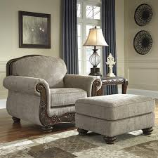 Traditional Chairs For Living Room Chair Ottoman Cecilyn By Signature Design By Ashley Cecilyn