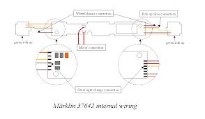 märklin 37642 front and rear lights märklin 37642 internal wiring