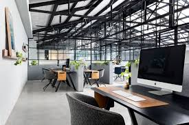 space furniture melbourne. Office, Study Room Type, Chair, Shelves, Concrete Floor, And Desk Photo Space Furniture Melbourne