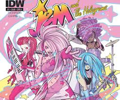 80s and 90s children rejoice beloved cartoon characters jem and the holograms will be getting not only a fabulous makeover but also their very own ic