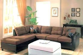 sectional sofa leather leather and suede couch microfiber sectional sofa leather design invigorate brown suede couch
