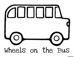 30 Dessins De Coloriage Bus Enfant Imprimer