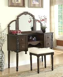 oak vanity table oak finish wood make up bedroom vanity set oak veneer dressing table with oak vanity table