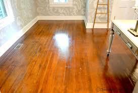 best way to shine floors