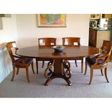 round shape dining table set