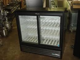 47 true 2 door glass slide door refrigerator low profile merchandiser 2018