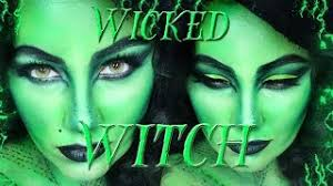 wicked witch makeup tutorial