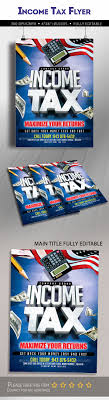 Tax Flyer Design Income Tax Flyer Template Graphics Designs Templates