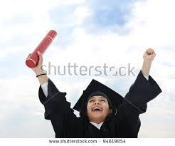 diploma graduating little student kid stock photo  diploma graduating little arabic student kid
