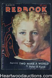 Redbook Mar 1932 McClelland Barclay cover