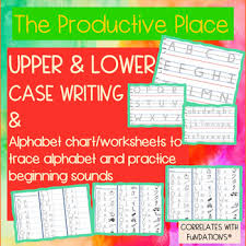 Alphabet Tracing Writing Practice Fundations Compatible No Prep