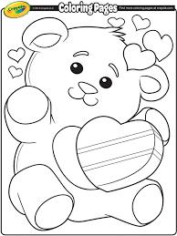 Valentines Day Bear Crayolaca