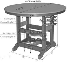 48 inch round table zoom images