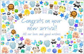 Congratulations On Your Baby Boy Congrats On Your New Arrival Baby Boy Ecard Baby Ecards