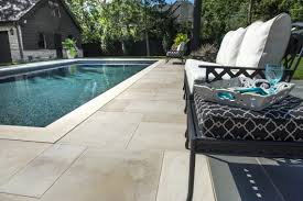 create outstanding pool decks with these concrete pavers and coping units