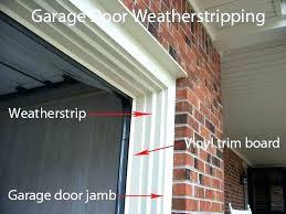 garage weather stripping door weatherstripping winnipeg