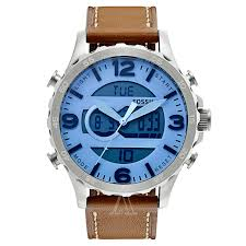 fossil nate jr1492 men s watch watches fossil men s nate watch