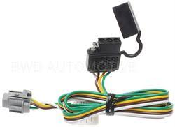 list trailer connector harness wiring vehicle specific 2001 bwd trailer connector kit