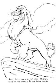 Small Picture Lion King 2 Coloring Pages For Kids PrintableKingPrintable
