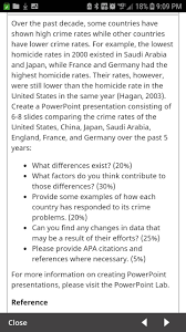 7 Powerpoint Slides Concerning Countries Criminal Homework Help