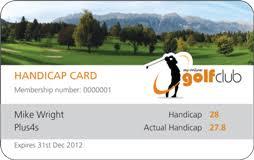 Golf Handicap My Online Golf Club