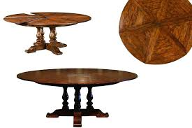 rustic round dining table. Rustic Round Dining Table Expandable With Hidden Leaves Farmhouse .