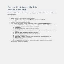 Quick Resume Builder 2018 Mesmerizing Free Professional Resume Builder New Quick Resume Builder Free