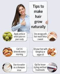 all natural tips for hair growth