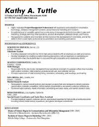 College Resume Fascinating Resume Layout For College Student