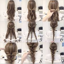 Hairstyle Easy Step By Step 10 quick and easy hairstyles stepbystep braid hair tutorials 1885 by stevesalt.us