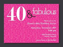 40th Birthday Invitations Free Templates Free Printable 40th Birthday Invitation Templates In 2019
