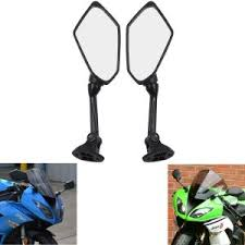 2 Pack Rear View Side Mirror UTV Side View Mirror for 1.75