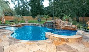 Pool Designs Spring Tx Backyard Oasis Custom Pool Builders Inground Pool Design