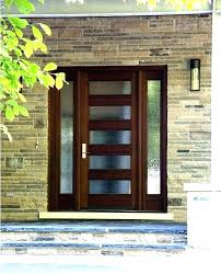 modern glass front doors. Exterior Back Doors With Glass Front S Stained Modern
