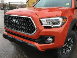 New 2018 Toyota Tacoma 4x4 Access Cab SR5 TRD Off-Road Package ...