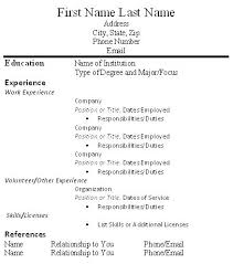 Download Resume Templates Adorable Resume With Volunteer Experience Template Resume Template With