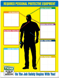 Electrical Ppe Chart Safety Sign Ppe Id Chart Label Booklet Kit