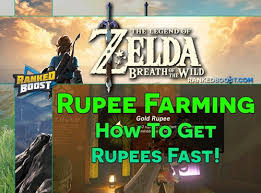 Zelda Breath Of The Wild Rupees How To Get Rupees Fast In