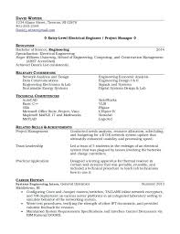 sample electrical engineer resume 5 sample resume for electrical engineer  maintenance pdf