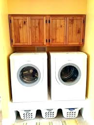 washer and dryer stands. Shelf Above Washer And Dryer Over Storage Cabinet Stands C