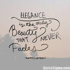 Quotes About Elegance And Beauty