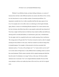 Cover Letter Definition Of Love Essay Biblical Definition Of